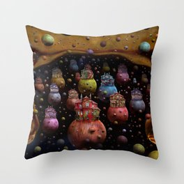 Die Ankunft Throw Pillow