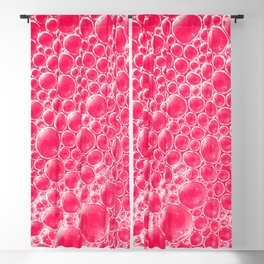 Champagne Bubbles Collection: #5 – Candy Apple Red Blackout Curtain