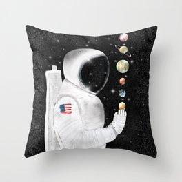Star Boy Throw Pillow