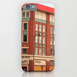 Red Roof Building iPhone Case