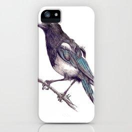 Juvenile Magpie iPhone Case
