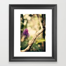 In the Garden 2 Framed Art Print