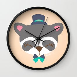 Raton laveur - Collection Dandynimo's - Wall Clock