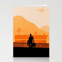 grand theft auto Stationery Cards featuring Grand Theft Auto: Trevor by mcsjackson