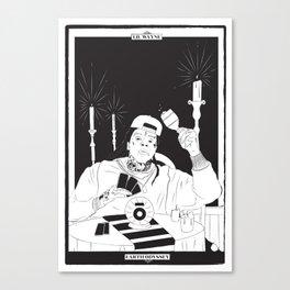 Earth Odyssey Tarot Card Canvas Print