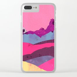 Candy Mountain Clear iPhone Case