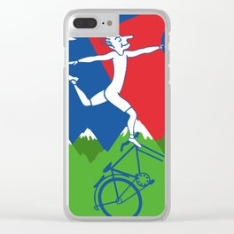 The Hoffman's Trip Clear iPhone Case