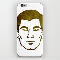 archer iPhone & iPod Skins featuring Archer by Spooky Dooky