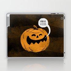 Pumpkin Season Laptop & iPad Skin
