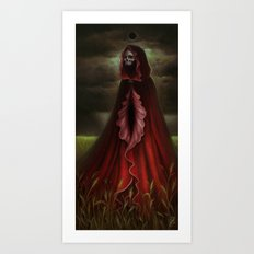 The Scarlet Mother Art Print