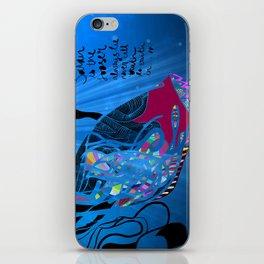 John 8/44+TheFish Nonrandom-art2 iPhone Skin