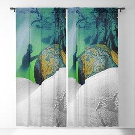 Underwater Planet Blackout Curtain