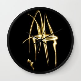 writing with light 2 Wall Clock