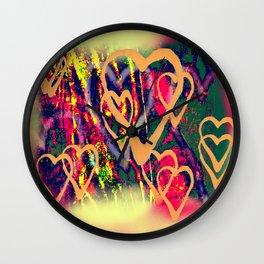 Street love Wall Clock