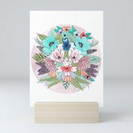 Colourful Bouquet Mini Art Print