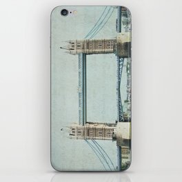 Letters From the Tower Bridge - London iPhone Skin