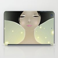 women iPad Cases featuring women by wit_art