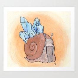 Slow Growth Art Print