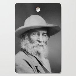 Walt Whitman Portrait Cutting Board