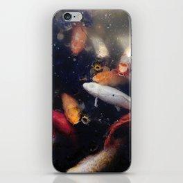Colorful Koi Fish iPhone Skin