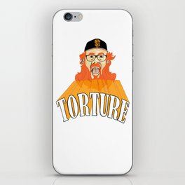 San Francisco Baseball Torture iPhone Skin
