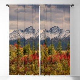 Seasons Turning Blackout Curtain