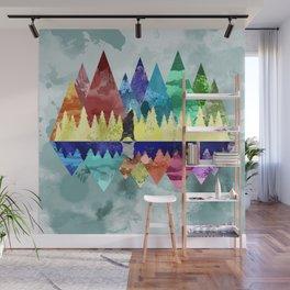 Mountains Spirit Wall Mural