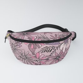 Pink Summer Meadow Fanny Pack