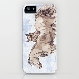 Companions - horse love iPhone Case