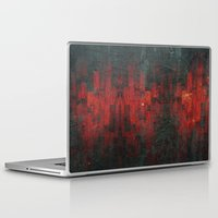 rothko Laptop & iPad Skins featuring Ruddy by Aaron Carberry