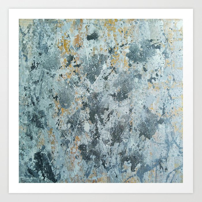 Abstract painting 100 Art Print