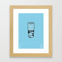 4ELEMENTS series Framed Art Print