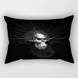 Troll Skull Rectangular Pillow