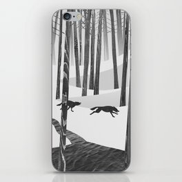 Martwood Wolves iPhone Skin