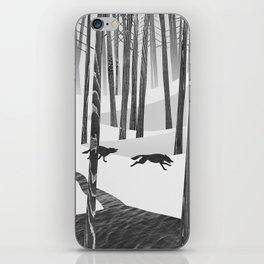 Martwood Wolves iPhone Skin