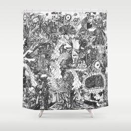 Monster Forest Shower Curtain