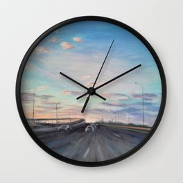 The way home_State Route 1 Wall Clock