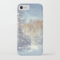 blanket iPhone & iPod Cases featuring White Blanket by Dirk Wuestenhagen Imagery