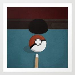 8 (Poke)ball Pool! Art Print