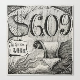 Stock Market #1 Canvas Print
