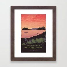 Pacific Rim National Park Reserve Framed Art Print