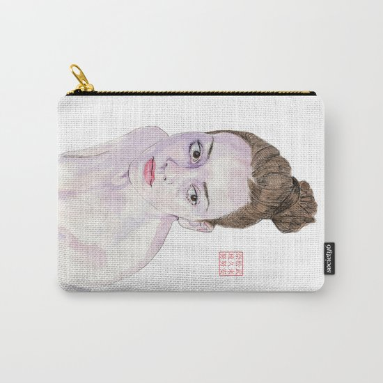 Portrait of a Ballerina Carry-All Pouch