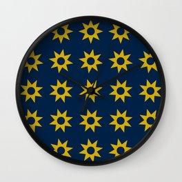 Tiny Suns Wall Clock