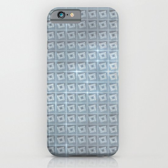 pattern (blue#1) iPhone & iPod Case