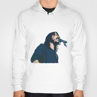 dave grohl Hoodies featuring Dave Grohl by Gnottingham