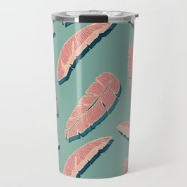 Falling Pink Leaves #society6 #decor #buyart Travel Mug