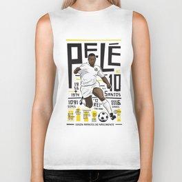 Pelé - Santos FC  Biker Tank
