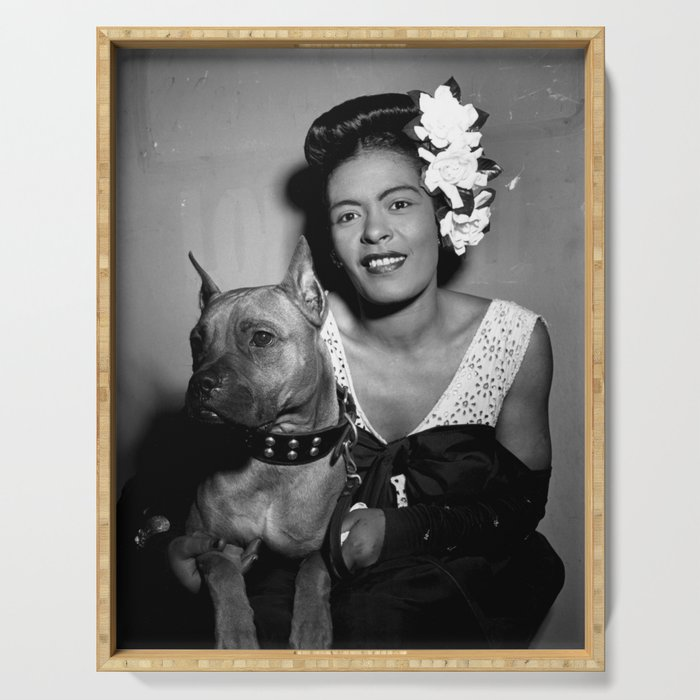 Billie Holiday : Lady Day & Her Mister Serving Tray