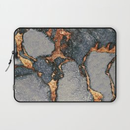 GREY & GOLD GEMSTONE Laptop Sleeve
