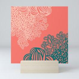 Floral Reef Mini Art Print
